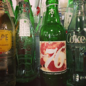 glass vintage bottles