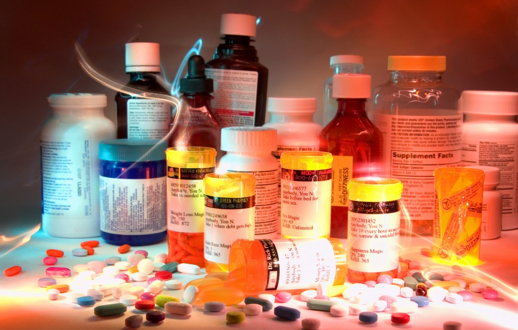 medicine pill bottles light painting excessable waste